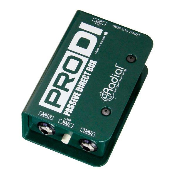 Radial Engineering ProDI 1-channel Passive Instrument Direct Box