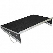 ProX Universal Sliding Laptop Shelf for all ProX Combo Mixer Cases