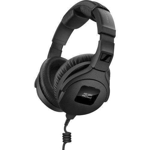 Sennheiser HD 300 PROtect Closed-Back Active Gard Studio Monitor Headphones