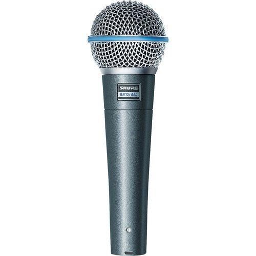 Shure BETA58A Supercardioid Dynamic Vocal Microphone