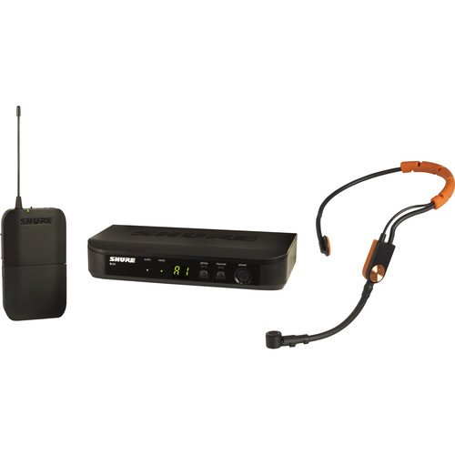 Shure BLX14/SM31 Wireless Cardioid Fitness Headset Microphone System H10 542 to 572 MHz