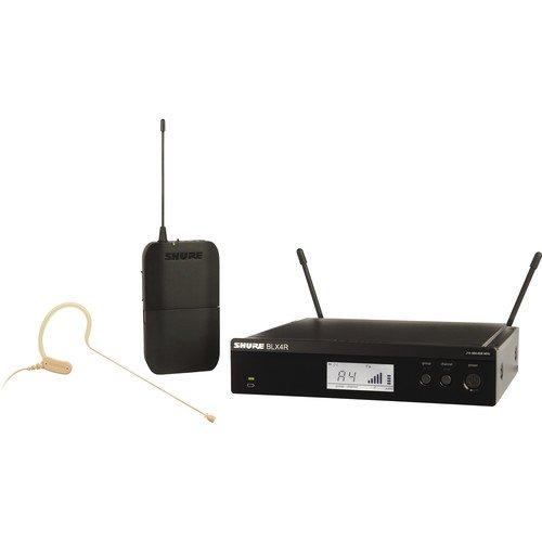 Shure BLX14R/MX53 Wireless Headworn Microphone System - H10 Band