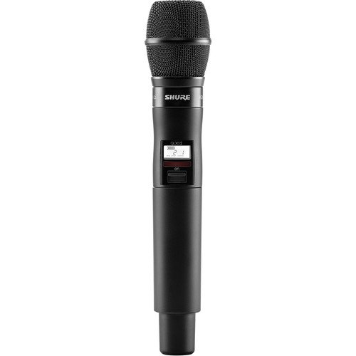 Shure QLXD2/KSM9  Digital Handheld Wireless Microphone Transmitter with KSM9 Capsule (G50: 470 to 534 MHz)
