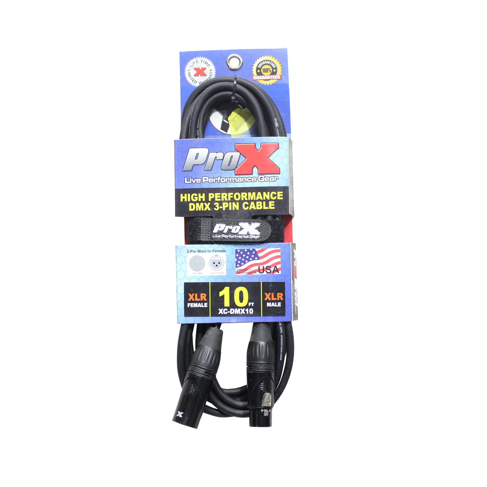 ProX High Performance 3PIN DMX Cable