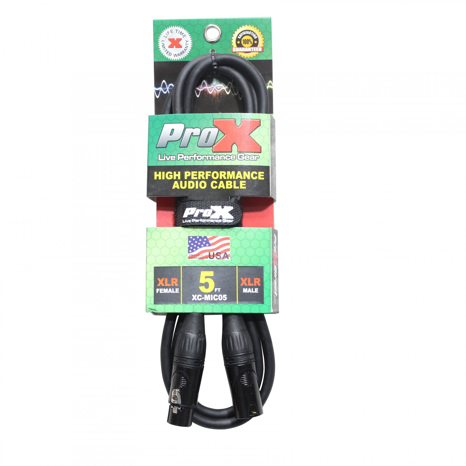 ProX Mic Cable XLR-Female to XLR-Male