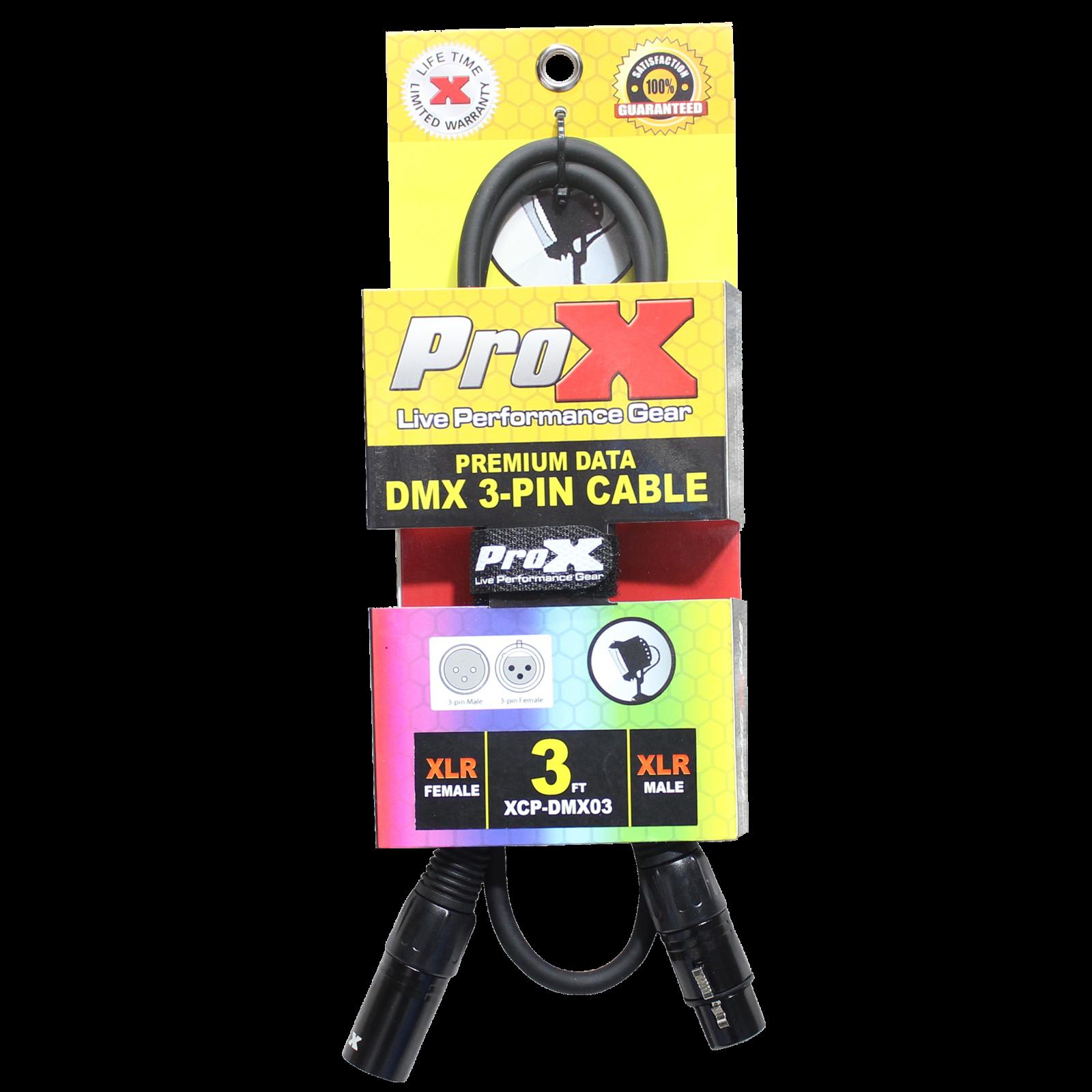 ProX Premium 3PIN DMX Cable