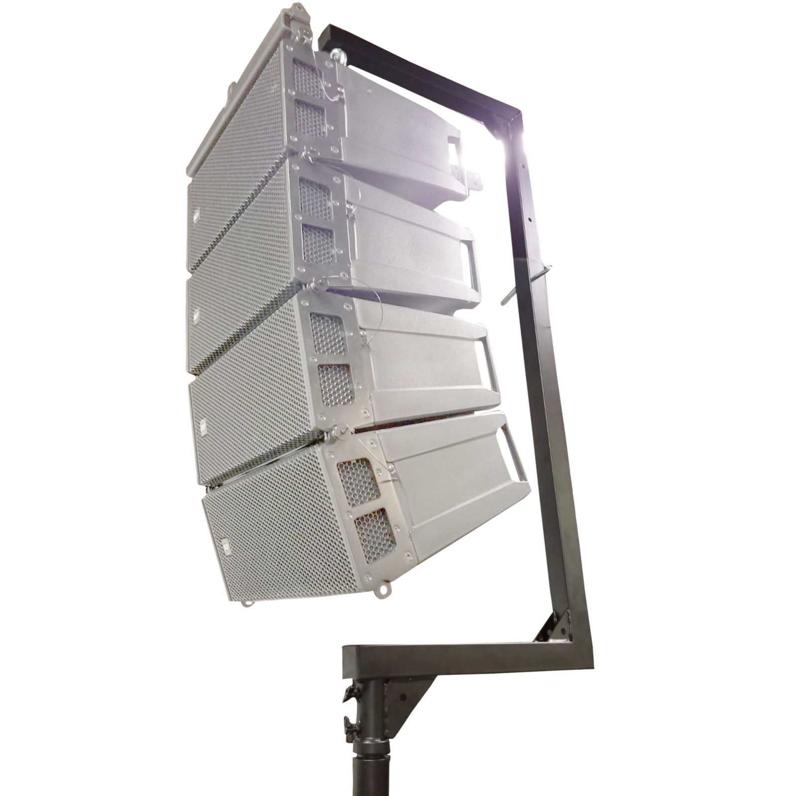 ProX XT-LA567 Universal Crank Stand Mount for Line Array Speakers - Maximum Load of 250 lbs