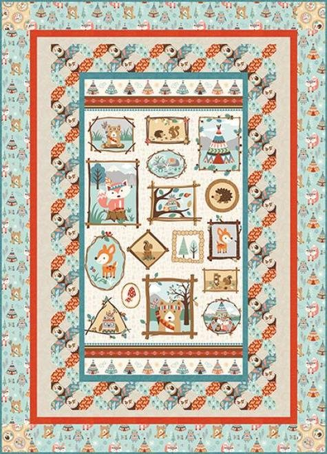 Camp-a-Long Critters Quilt2