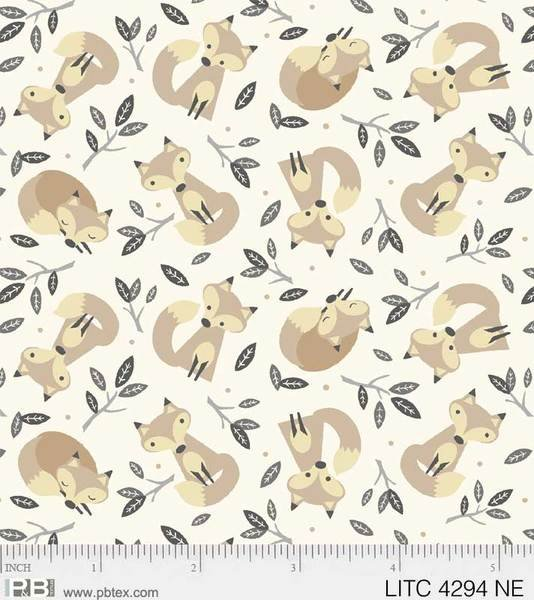 PB Little Critters Foxes on Cream