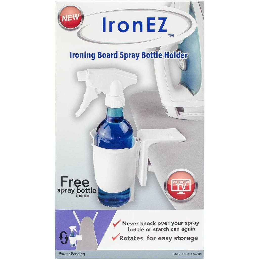 Iron EZ Spray bottle Holder w/ Mister
