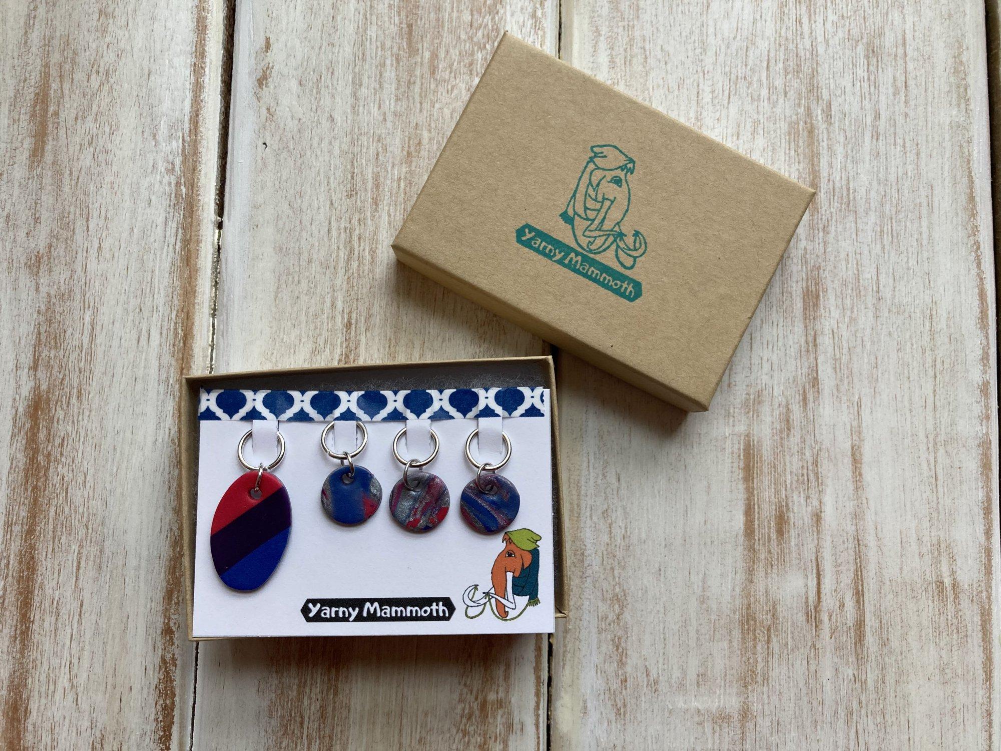 Storied Fiber Art Stitch Markers