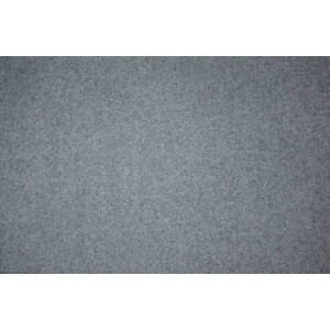 100% Wool - Melton Slate Gray