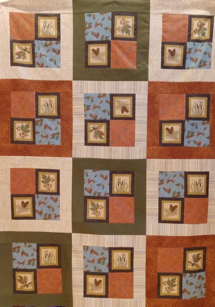 Big Block Flannel Kit #1 Fall Impressions