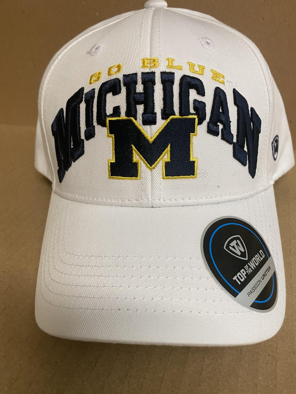 U of M Wolverines Whiz Snapback Hat