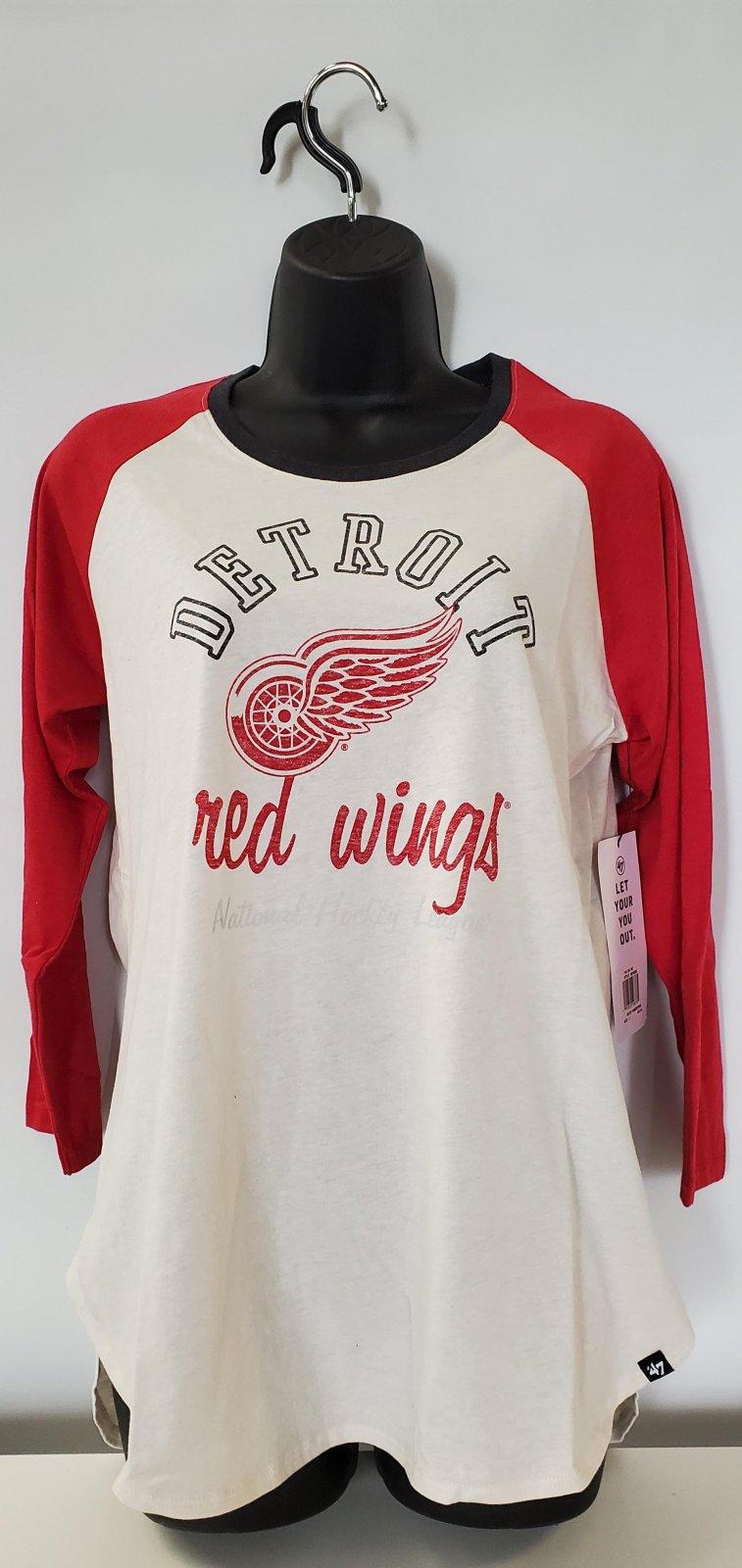 Detroit Red Wings KA Midrange Raglan Tee