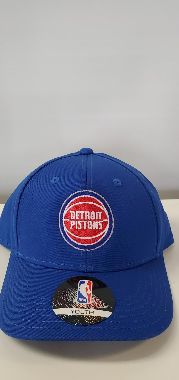 Detroit Pistons Structured Youth Adj Hat