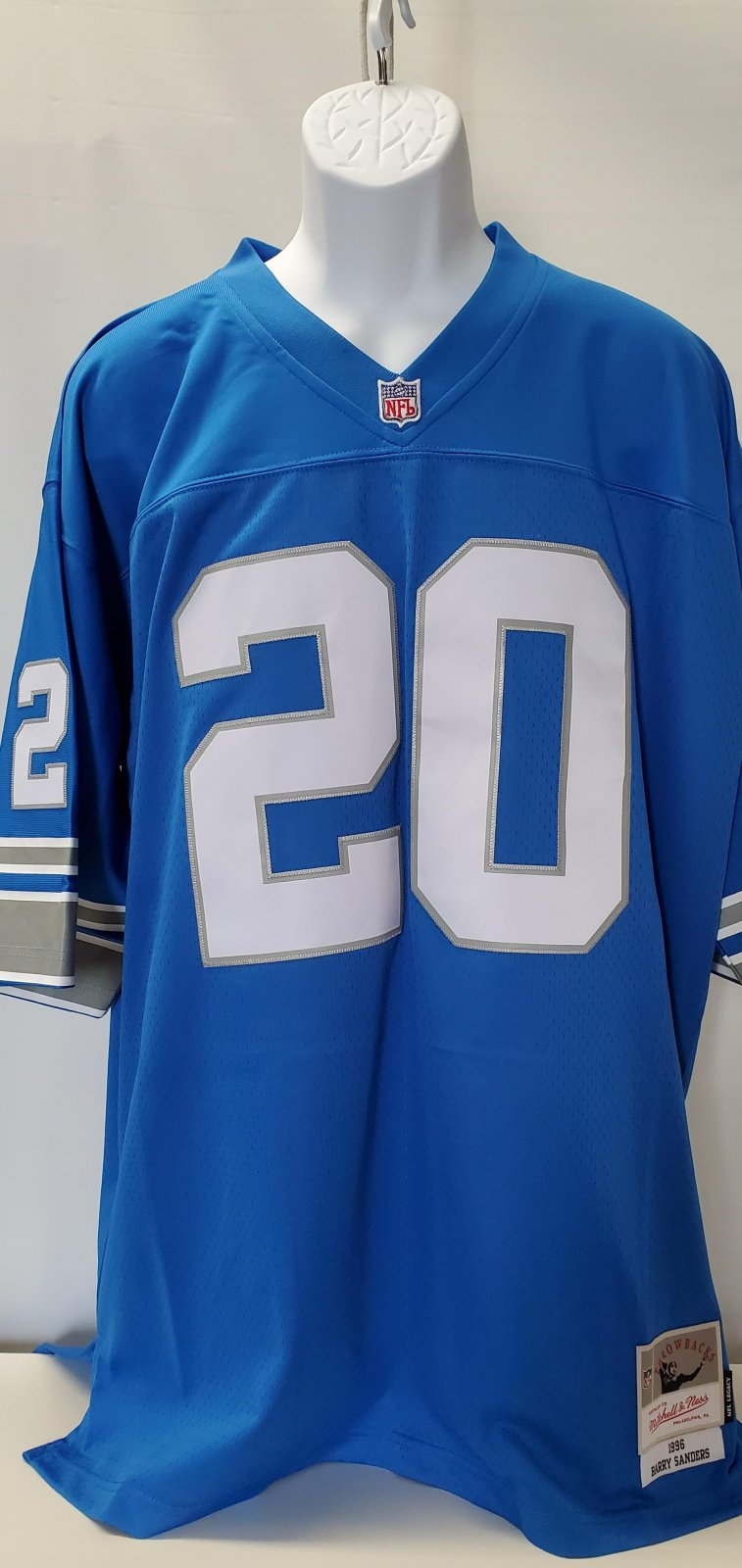Detroit Lions Barry Sanders M & N Jersey