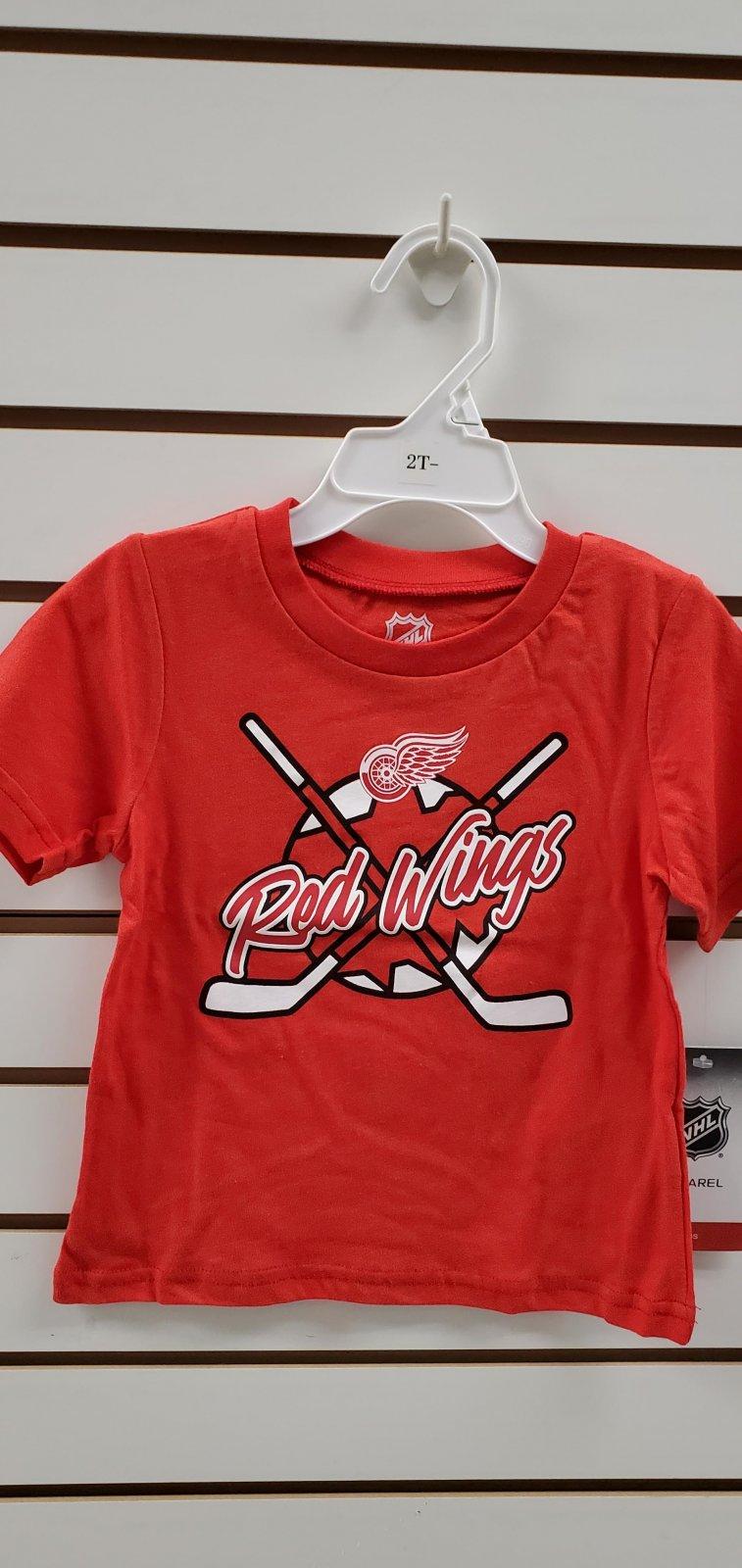 Detroit Red Wings Playtime Toddler Tee