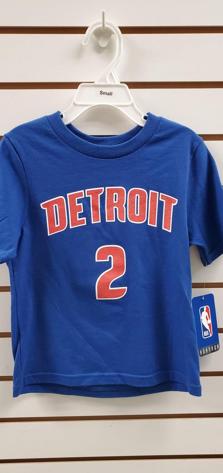 Detroit Pistons Cade Cunningham Child Tee