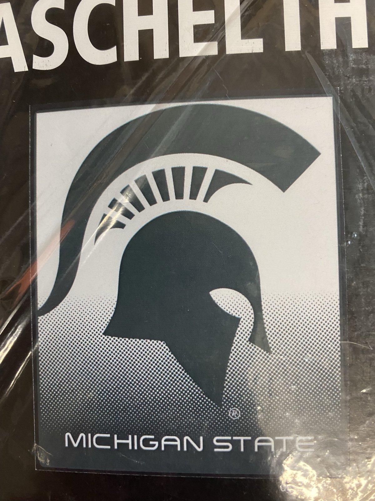 MSU Spartans Raschel Throw Blanket