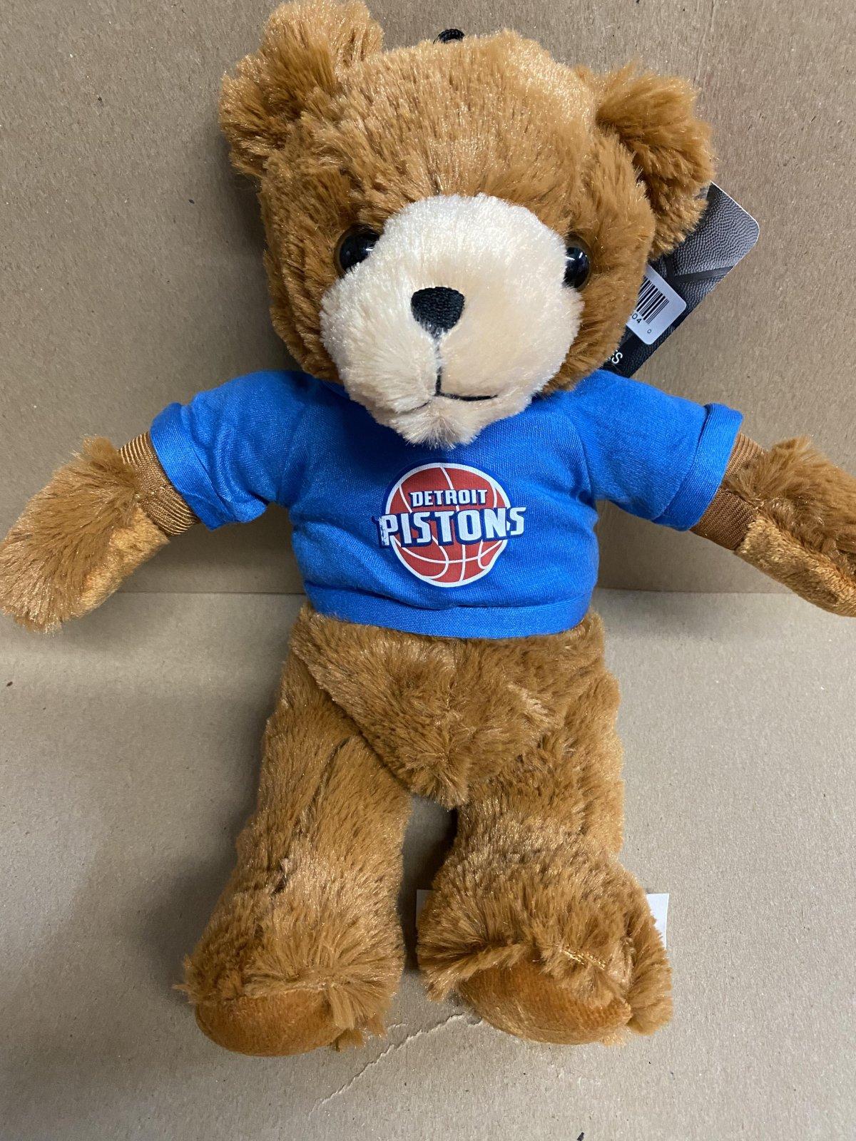 Detroit Pistons Rally Bear