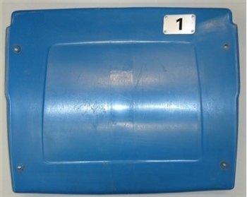 Pontiac Silverdome Seat Back - Blue - #1, 4 or 16