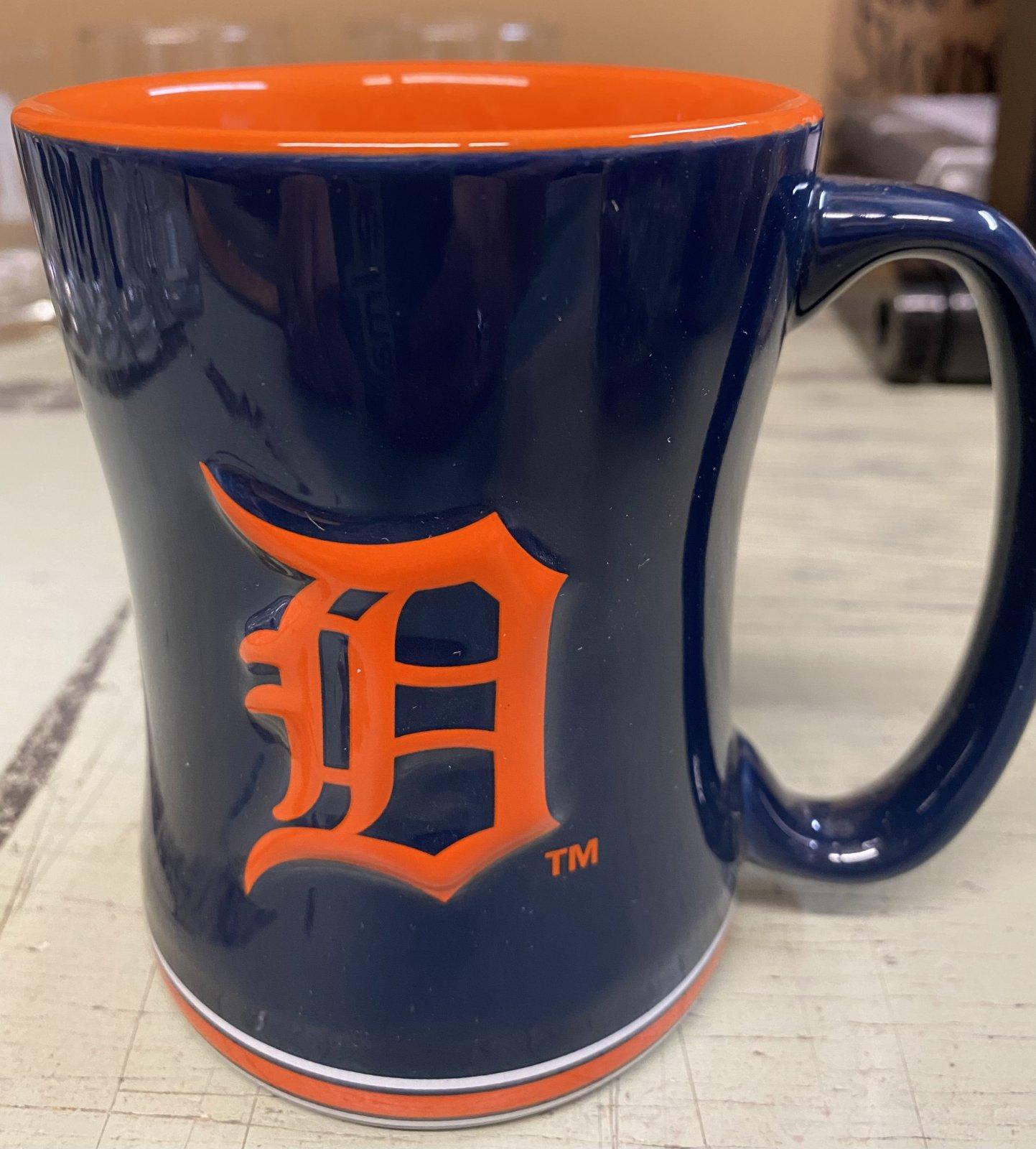 Detroit Tigers Relief Mug