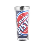 Great American Products Detroit Pistons 2 oz. Stainless Steel  Shooter Shot Glass