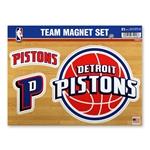 Rico Ind. Detroit Pistons Team Magnet Set