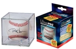 Clear Square Display Baseball Holder Cube