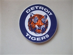 Vintage Detroit Tigers 4x4 Perfect Cut Logo by Wincraft