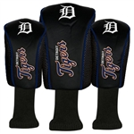 WinCraft Detroit Tigers 3 Piece Golf Club Covers