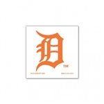 Wincraft Detroit Tigers 4 Pack Orange Temporary Tattoos