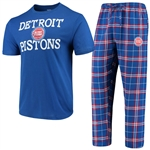 Concepts Sport Detroit Pistons Duo Sleep Set