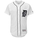 Majestic Detroit Tigers Home Flex Base Authentic Collection Team Jersey