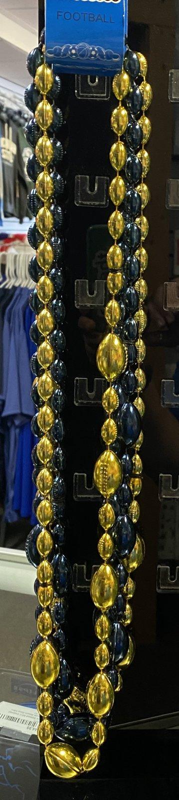 U of M Wolverine Football Beads