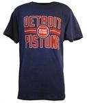 47 Brand Detroit Pistons Block Stripe Club Tee