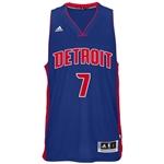 Adidas Mens Detroit Pistons Jennings Swingman Jersey