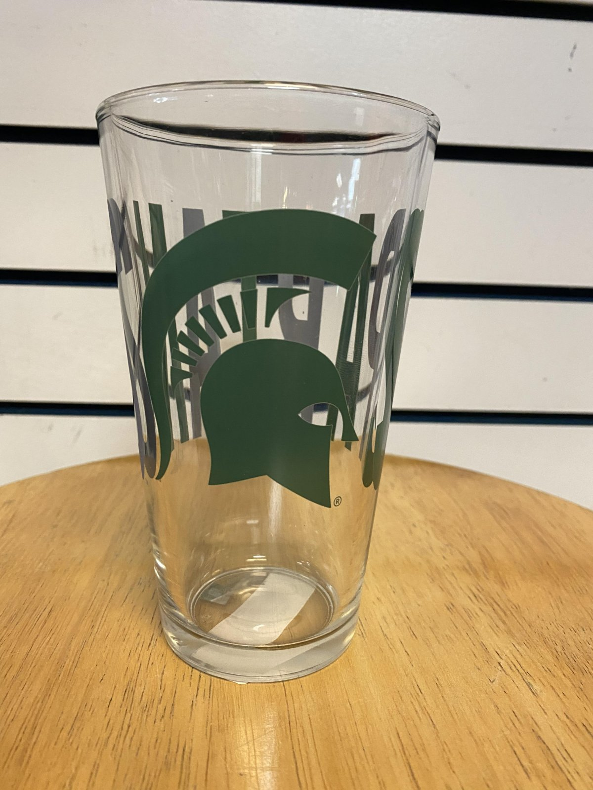 MSU Spartans Overtime Pint Glass