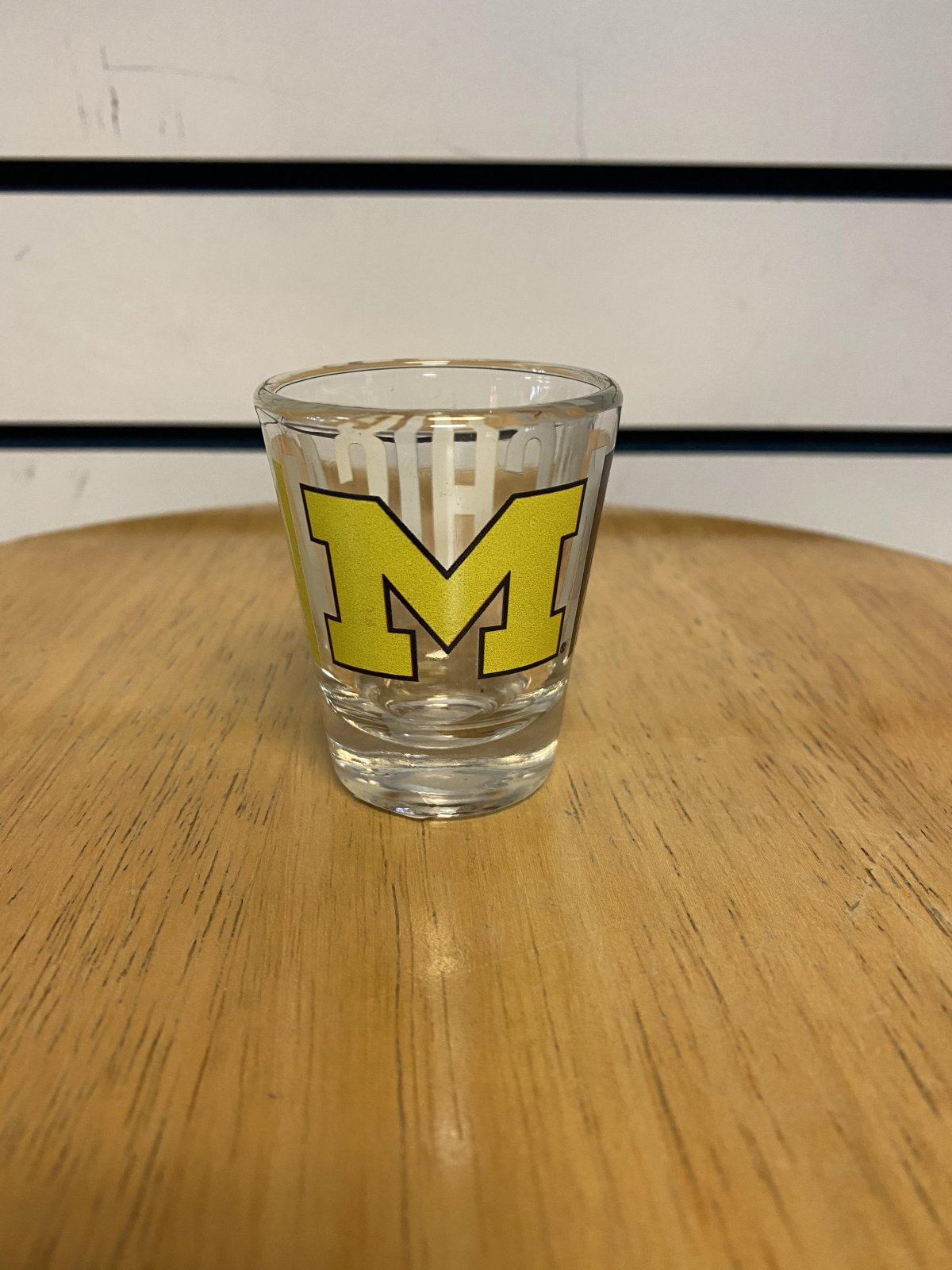 U of M Wolverines Overtime Shot Glass