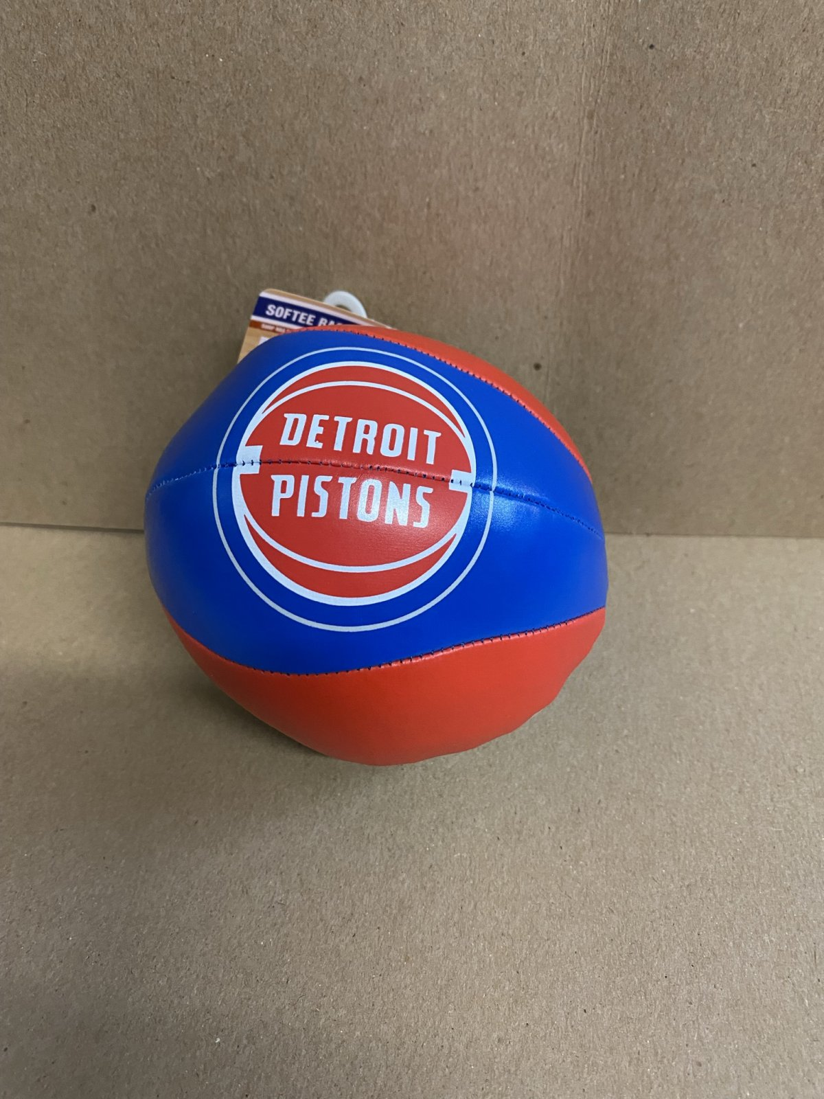 Detroit Pistons Softee Basketball