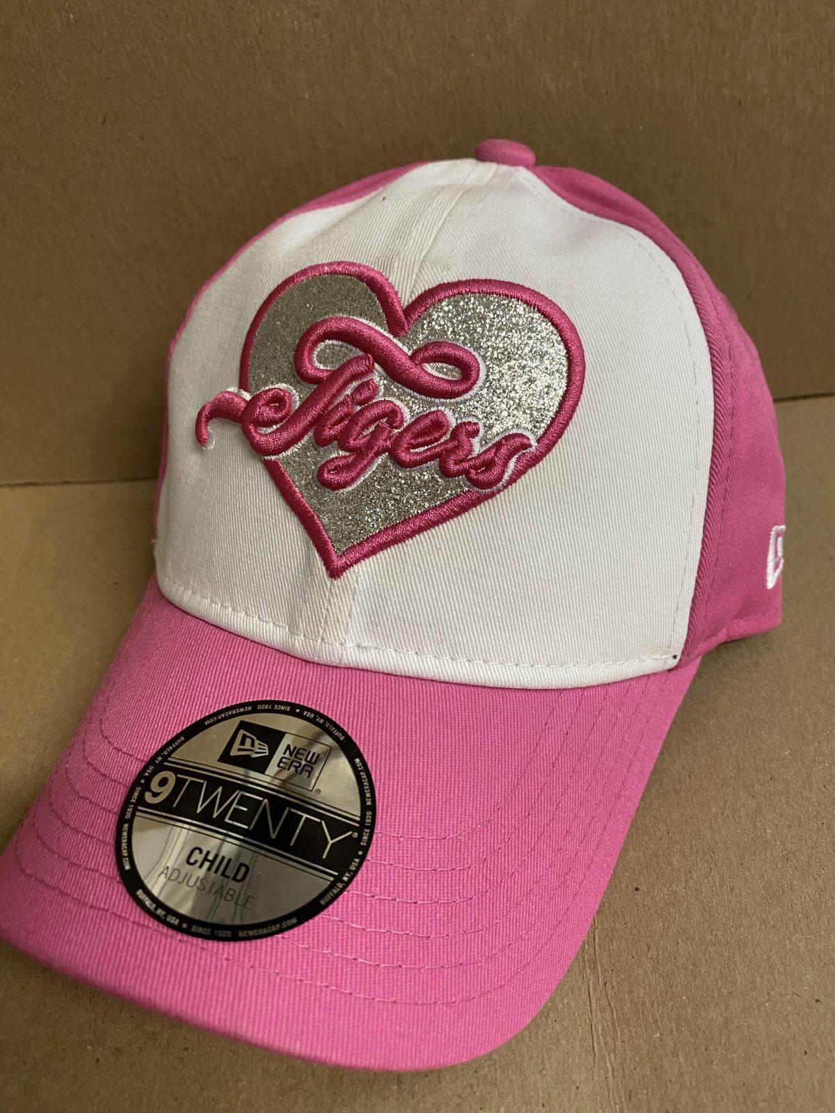 Detroit Tigers Sparkly Fan Child Pink Hat