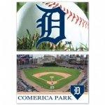 Detroit Tigers Square 2 PK Magnet Set Comerica Park