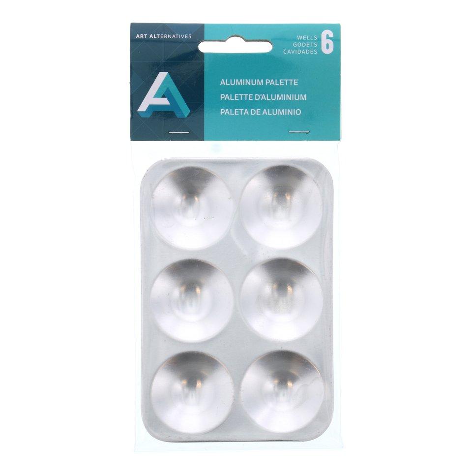 AA Palette Aluminum 6 Well