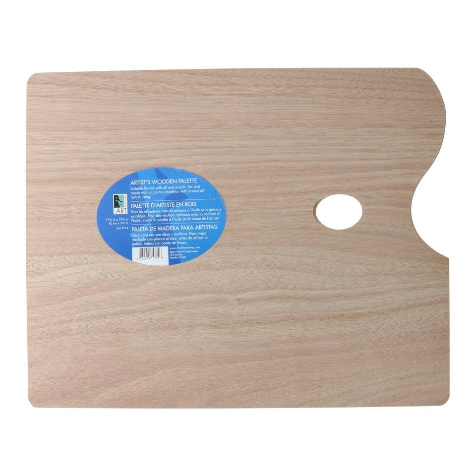 AA Palette Wood Rectangular 15X19