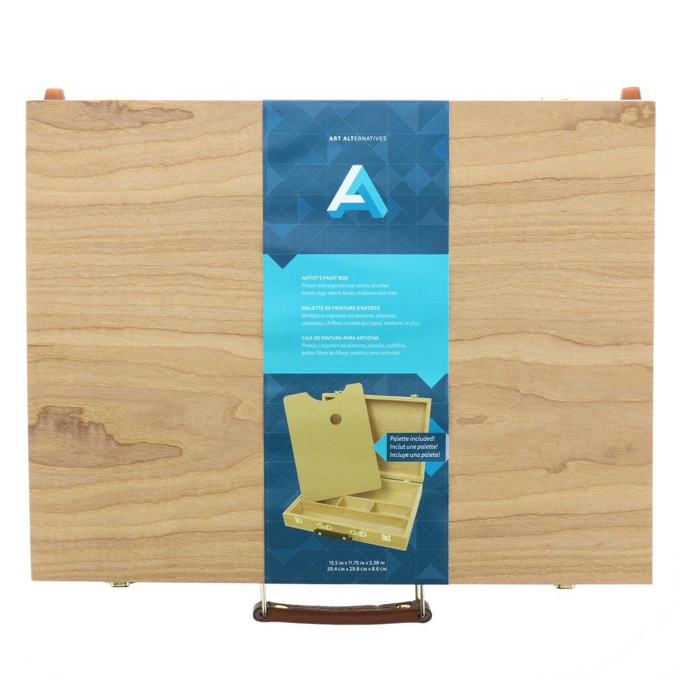 AA Paint Box W/ Palette 11.75X15.25