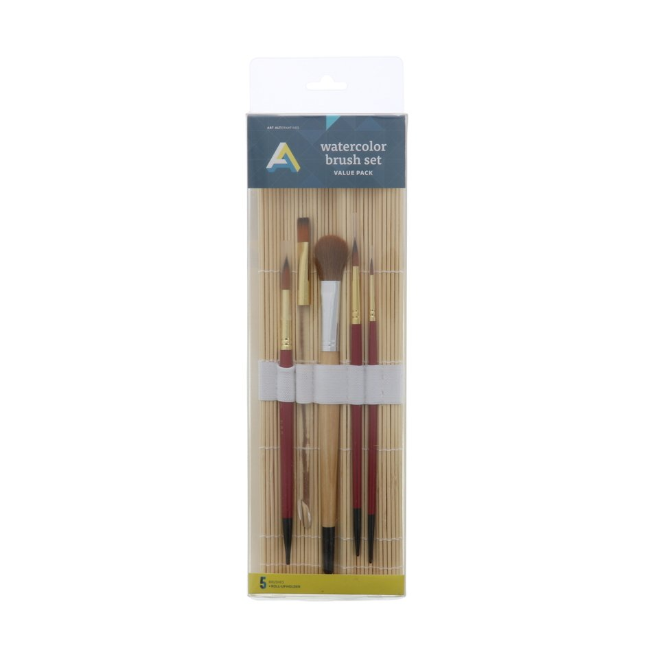 AA Brush Watercolor  Rollup