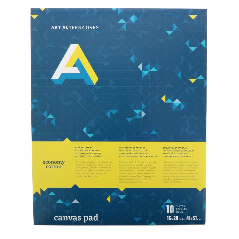 AA Canvas Pad 10PK 16X20