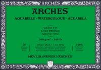 Arches WC Block Cold Press 140LB 7X10