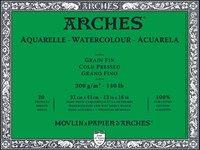 Arches WC Block Cold Press 140LB 12X16